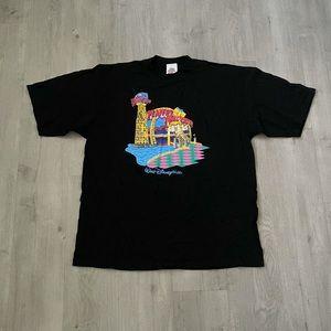 Vtg 1991 Walt Disney World Planet Hollywood Shirt
